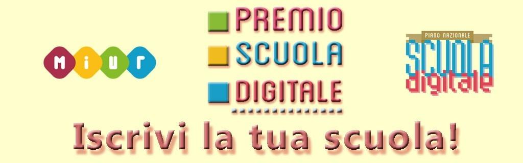 Premio scuola digitale - iscrivi la tua scuola